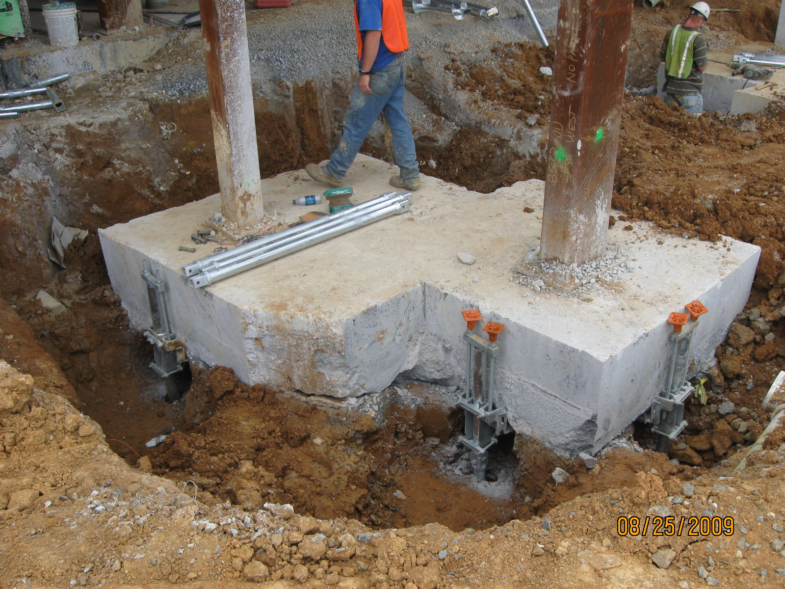 Featured projects gibson 39 s pressure grouting for Foundation pilings